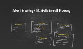 Robert Browning & Elizabeth Barrett Browning