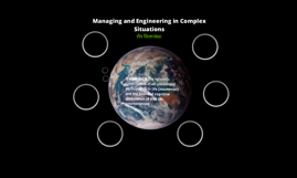 Engineering, Management and Complexity