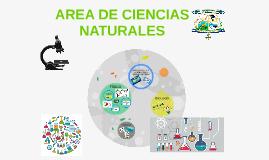 Copy of AREA DE CIENCIAS NATURALES