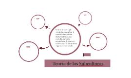 Teoria de las Subculturas