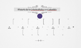 Historia de la Criminalística en Colombia