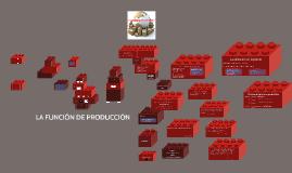 LA FUNCIÓN DE PRODUCCIÓN