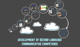 Development of Second Language Communicative Competence