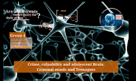 Crime, culpability, and adolescents brain