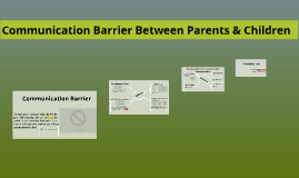 Copy of Communication Barrier Between Parents And Children