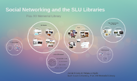Social Networking and the SLU Libraries: Pius XII Memorial Library