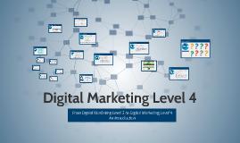 Digital Marketing Level 4