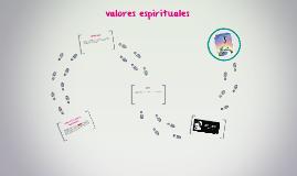 ¿que son los valores espirituales?