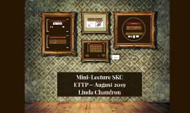 Mini-Lecture SKC
