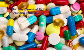 The Importance of water-solubility in Pharmacy