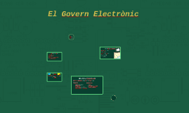 El Govern Electrònic