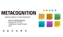 Copy of Metacognition: Fiction Signposts