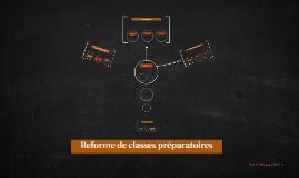 Reforme classes préparatoires