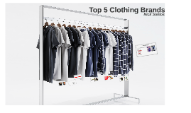 Top 5 Clothing Brands
