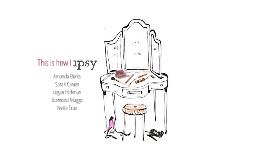 Ipsy Edit | Due 1 June 2016