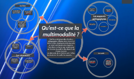 Qu'appelle-t-on formation multimodale ?