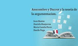 Anscombre y Ducrot y la teoría de la argumentación