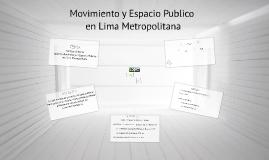Movimiento y Espacio Publico