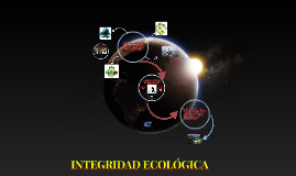 Copy of INTEGRIDAD ECOLÓGICA
