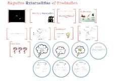 Negative Externalities of Production