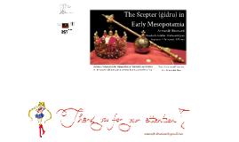 The Scepter (ĝidru) in