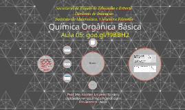 Aula 5 - Química Orgânica