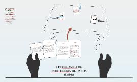 LEY ORGANICA DE PROTECCION DE DATOS (LODPD)