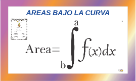 CALCULO INTEGRAL - AREAS BAJO LA CURVA
