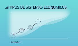 tipos de sistemas economicos