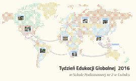 Tydzień Edukacji Globalnej SP2