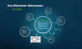 NS - Münchner Abkommen