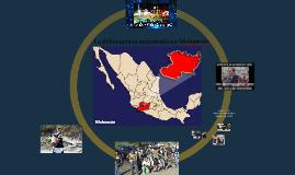 La delincuencia organizada en Michoacán