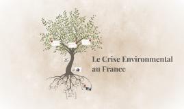 Le Crise Environmental