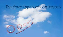 The Four Type Of Sentences