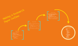 Research Outline Basics