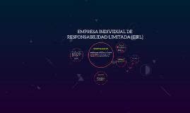Copy of  EMPRESA INDIVIDUAL DE RESPONSABILIDAD LIMITADA [EIRL]