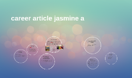 career presentation jasmine A