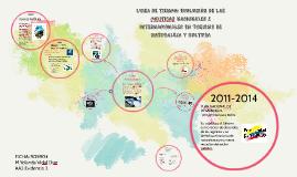 LINEA DE TIEMPO: EVOLUCIÓN DE LAS POLITICAS NACIONALES E INT