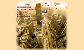 Copy of Urbanisation