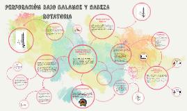 PERFORACIÓN BAJO BALANCE Y CABEZA ROTATORIA