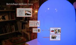 Betriebspraktikum 2014