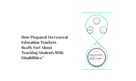 How Prepared Do General Education Teachers Feel Teaching Spe
