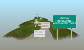 Copy of STEPS IN DEVELOPING ASSESSMENT TOOLS
