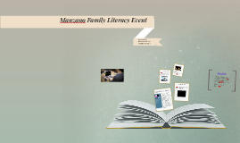 Manzano Family Literacy Event