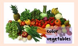 color vegetables