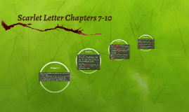 Scarlet Letter Chapters 7-10