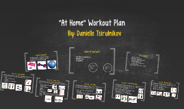 """At Home"" Workout Plan"
