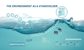 Copy of THE ENVIRONMENT AS A STAKEHOLDER
