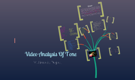 Multimedia Project: Tone of music video