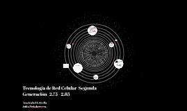 TECNOLOGIA DE RED CELULAR